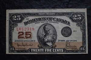1923-25-Cents-AUTHORIZED-very-rare-and-Cut-Off-BC-24a-Hyndman