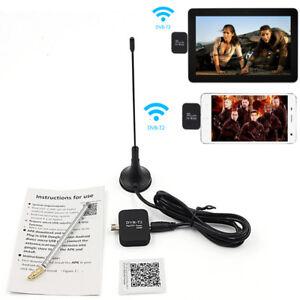 HD Digital TV Receiver USB DVB-T2 TV Stick Android Phone Pad Watch