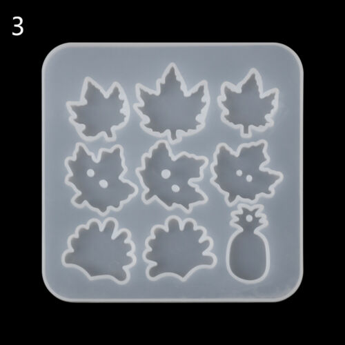 Resin Silicone Molds Pendant Making DIY Crystal Epoxy Mold Small Dinosaur Mould~