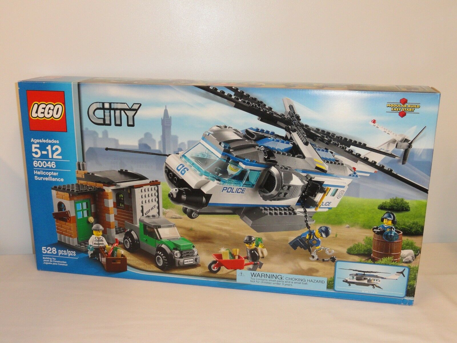 NEW LEGO City City City Helicopter Surveillance 60046 Factory Sealed Box Set 2014 2c62a3