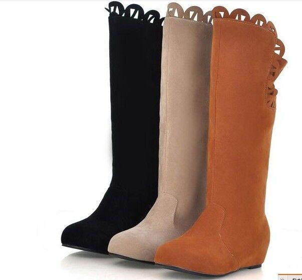 Stiefel Komfortabel Schuhe 9157 Leder Beige Kunststoff Braun XZPklwOiuT