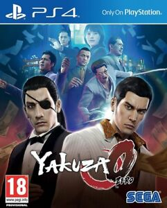 Yakuza 0 (PS4) BRAND NEW AND SEALED - IN STOCK - QUICK DISPATCH - FREE UK POST