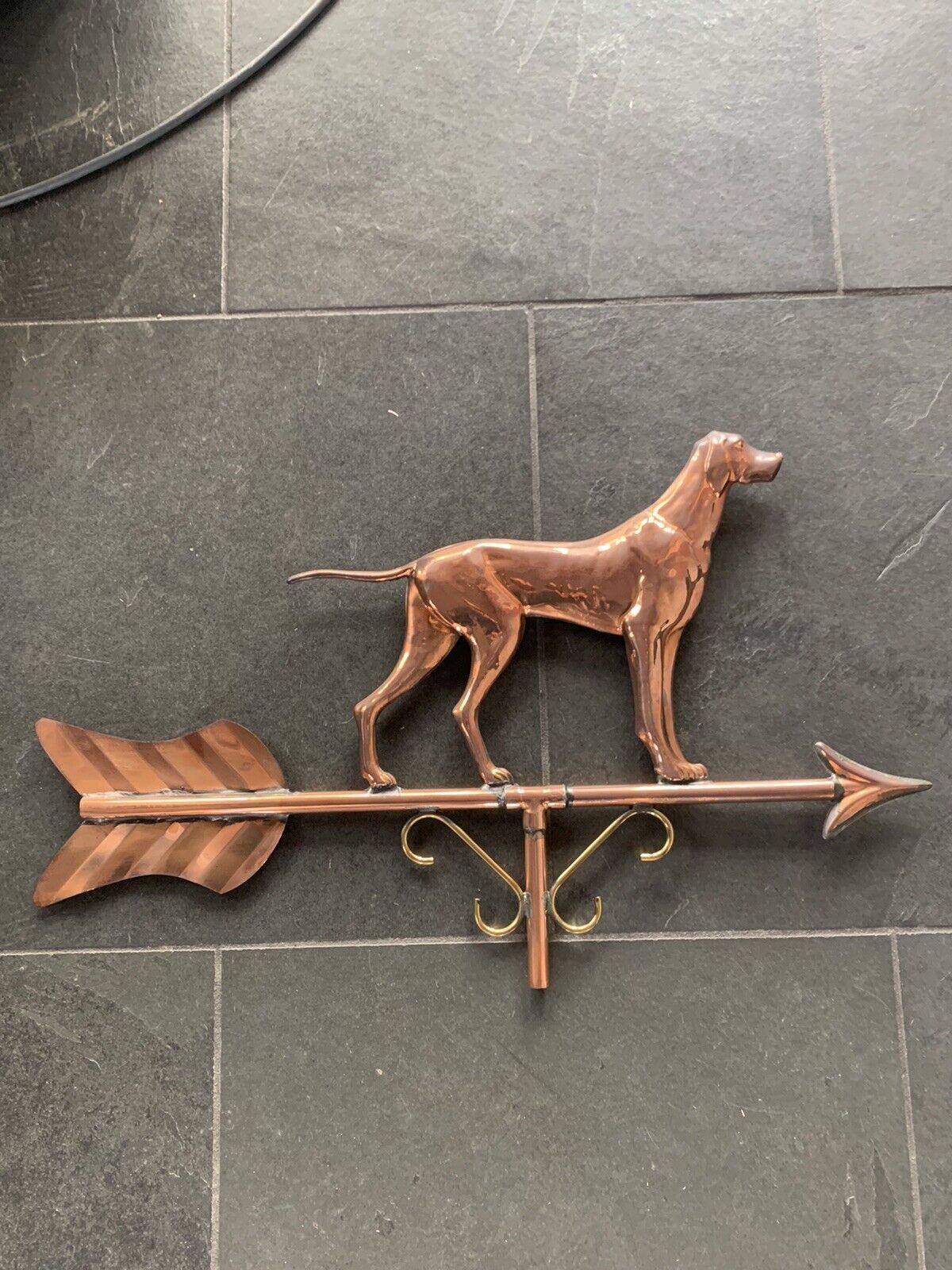 Copper Dog Weathervane from Weathervane Shoppe NIB