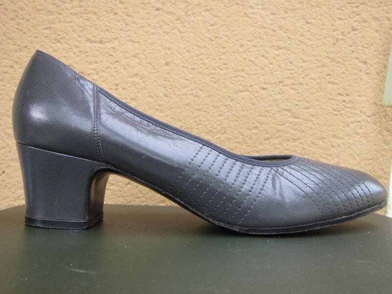 Sandales cuir gris hasley 6,5