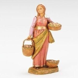 FONTANINI-034-Dahlia-Villager-034-5-034-Figurine-NEW-Limited-Edition