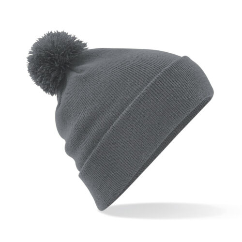 Personalised Embroidered Bobble Pom Pom Beanie Hat Pullover Wooley Hat Unisex