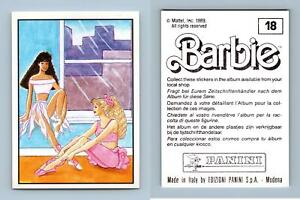 Barbie #91 Mattel 1989 Panini Sticker