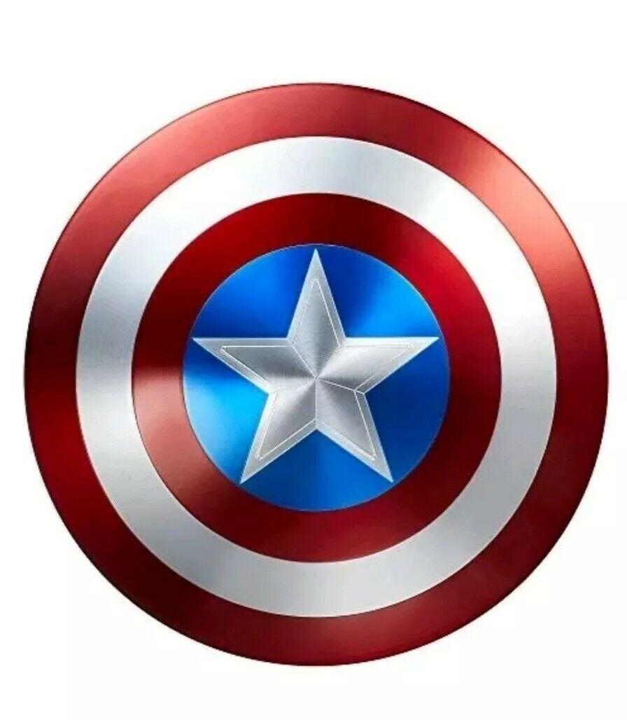Captain America 75th Anniversaire Full Taille Metal shield Replica Marvel Legends