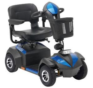 Drive Envoy 4 Mobility Scooter 4mph Suspension 30 Mile Range Pneumatic Tyres