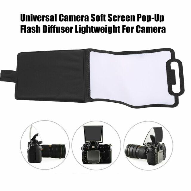 Universal Camera Soft Screen Pop-Up Flash Diffuser Lightweight For Camera AZ
