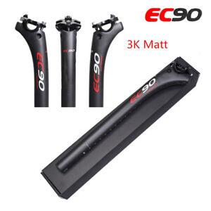 EC90-3k-Matte-Full-Carbone-Velo-De-Montagne-Velo-Tige-de-selle-tube-de-selle-Velo-de-route-Tige-de