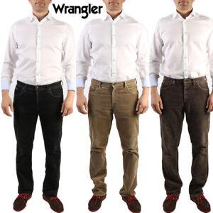 VINTAGE-Wrangler-Jeans-in-Velluto-a-Coste-Pantaloni-Gamba-Dritta-Regular-Fit