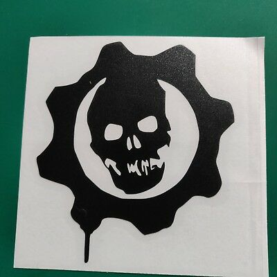 Gears Of War Car Decal Sticker Funny//Car//Van//Bike//Bumper//Window Vinyl