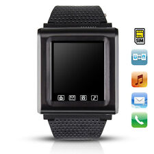 Quad-Band GSM Unlocked AK812 Smart Wrist Watch Phone Touch Screen Bluetooth H2