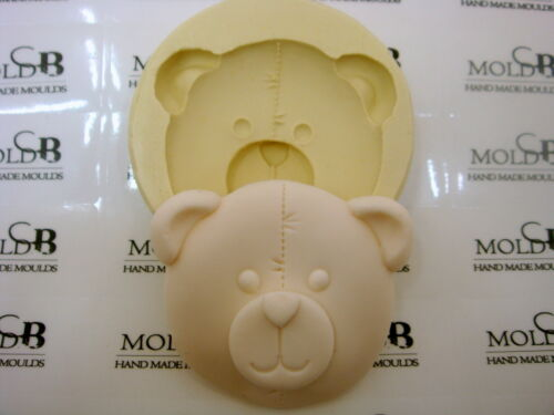 Silicone Mold Chocolate Polymer Clay Jewelry Soap Melting Wax Resin Bear Large