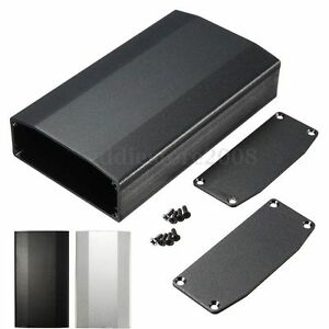 110 64 25 5mm aluminum box circuit board enclosure case project rh ebay com