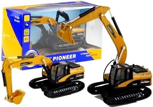 Bagger 50 Raupenbagger Baufahrzeug Spielzeug Fahrzeug 1 50 Bagger Sound&Licht 678081