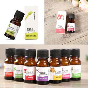 10 ml Aromatherapie Ätherische Öle Natürliche Öle & Aroma Therapeutisch Duftöl *