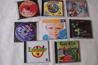 Für Kinder  =  8 CD Diverse Musik / Spiele / Lernen