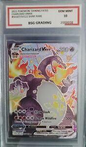 ?Pokemon Shining Fates Charizard Vmax 10 Gem Mint ?