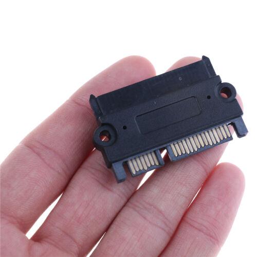 22Pin 7+15 Pin Male Plug To Sata 22Pin Female Jack Convertor M//F Adapter Sas VvV