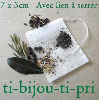 Energico Lot De 20 Sachets Vides Infusion The Tisane Herbes Epices Cuisine Bouquet 7x5cm Facile E Semplice Da Gestire