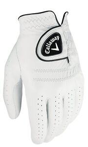 Callaway-Tour-Authentic-Men-039-s-Golf-Glove-White-Pick-Size