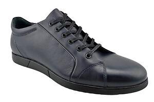 230-ovatto-en-Cuir-Bleu-Casual-Hommes-Baskets-Chaussures-Nouvelle-Collection