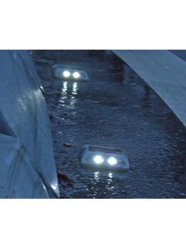 Markierungsnagel LED Solar AluGuss Parkflächentrennung Parkraumbegrenzung B-Ware