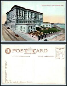 CALIFORNIA-Postcard-San-Francisco-Fairmont-Hotel-H1