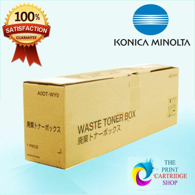 New & Genuine Konica Minolta A0DT-WY0 Waste Toner BizHUb C203 C253 C353 C200