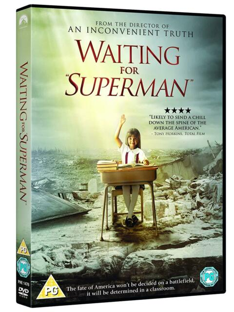 Waiting For Superman DVD New Sealed Free UK Post