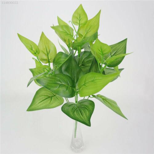 7152 Kunstpflanzen Gefälschte Pflanze 7 Köpfe Kunststoffblatt 36cm Garten