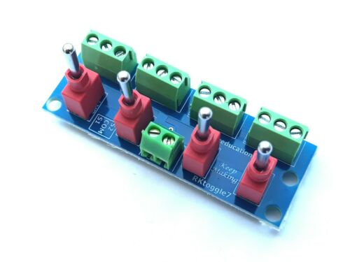 RKtoggle7 Switch Module for use with Solenoid Points Capacitor Discharge Units