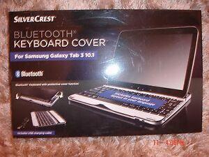 Silvercrest-Bluetooth-Keyboard-Cover-For-Samsung-Tab-3-10-1