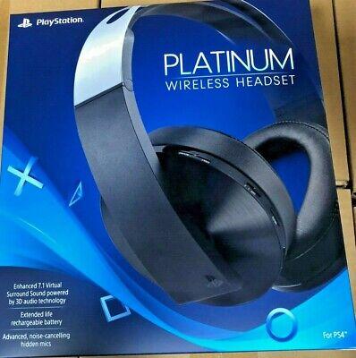 Sony Ps4 Platinum Wireless Headset Amazing Price Priority Shipping Ebay
