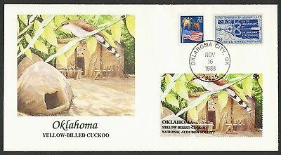 Unter Der Voraussetzung Nat 'l Audubon Society-oklahoma-cuckoo Nordamerika Fleetwood Any 4 = Usa