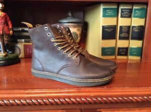 0bf8fb99e2ad Dr. Martens Mens Tobias Brown Leather US Size 10 M Lace Up Ankle ...