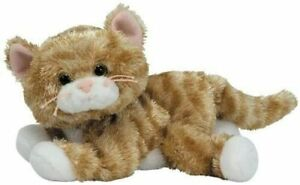 Ty Beanie Baby Babies 40605 Tabbles the Gold Tabby Cat 15cm