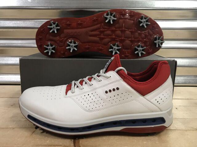 5c810e4867f0b ECCO 2017 Men's Cool 18 GTX Golf Shoes 130114 - White/tomato 44 Eu ...