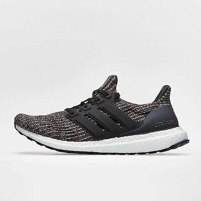 Adidas Mens Ultra Boost Running Shoes Sports Trainers Black Training Footwear Waren Des TäGlichen Bedarfs