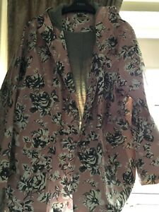 Cath Kidston Freston Rose Trench Coat BRAND NEW!! Size 10 100/% cotton