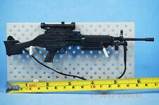 1/6 Scale Action Figur US Light Machine Gun M249 Light LMG SAW Minimi K1191 J