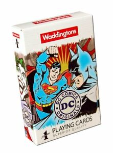 Waddingtons-DC-Superman-Batman-Retro-Comics-Playing-Cards