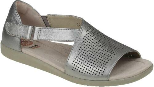Earth Spirit Redvale Leather Ladies Slingback Ankle Strap Comfort Sandals