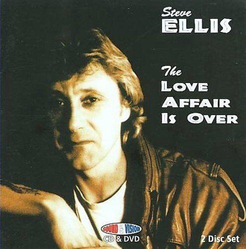 STEVE ELLIS - THE LOVE AFFAIR IS OVER NEW CD