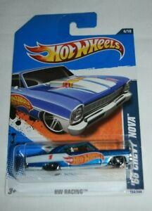 Hot Wheels /'66 Chevy Nova HW Racing White