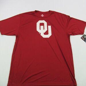 University of Oklahoma NCAA Shirt Sleeve Shirt College XL Colosseum NWT Red