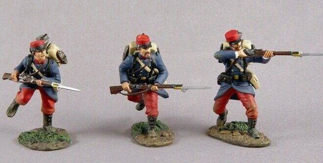 Britains WWI 17819 French inf charging set 1