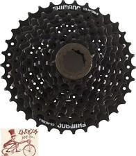 SHIMANO CS-HG200-9 HYPERGLIDE 9 SPEED---11-34T BLACK MTB BICYCLE CASSETTE